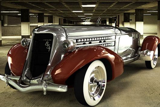 Models Cars Classic Model Cinema Tutorials
