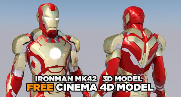 Iron Man 3d Model Tutorial Iron Man 3 Mark 42 Free 3d