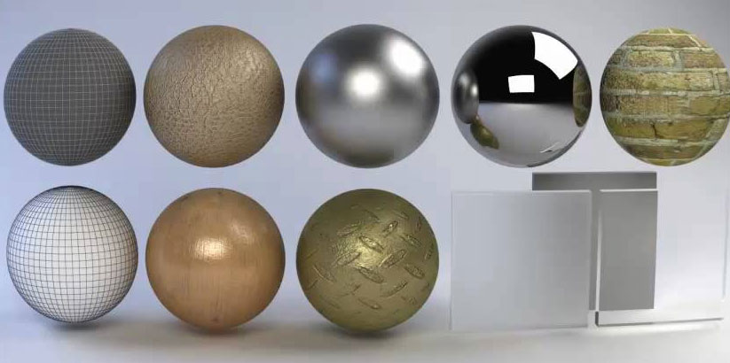 free metal materials pack cinema 4d tutorials « Cinema 4D