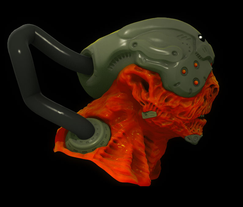 biomechanoid character free tutorial cinema 4d « Cinema 4D