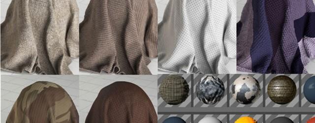 free fabric materials for cinema 4d « Cinema 4D Tutorials