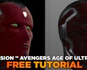 VISION AGE OF ULTRON TUTORIAL