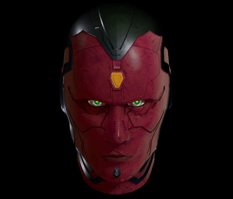 VISION AVENGERS AGE OF ULTRON FREE TUTORIAL « Cinema 4D ...