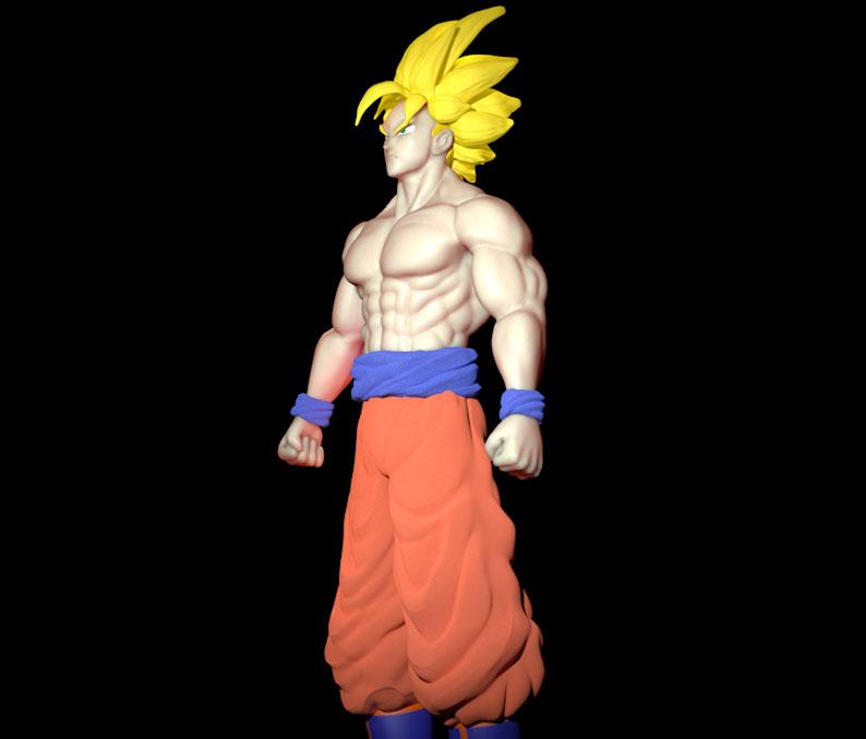 Goku sculpting tutorial « Cinema 4D Tutorials