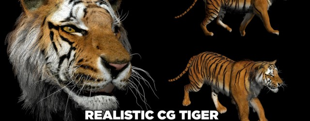 tiger cinema 4d