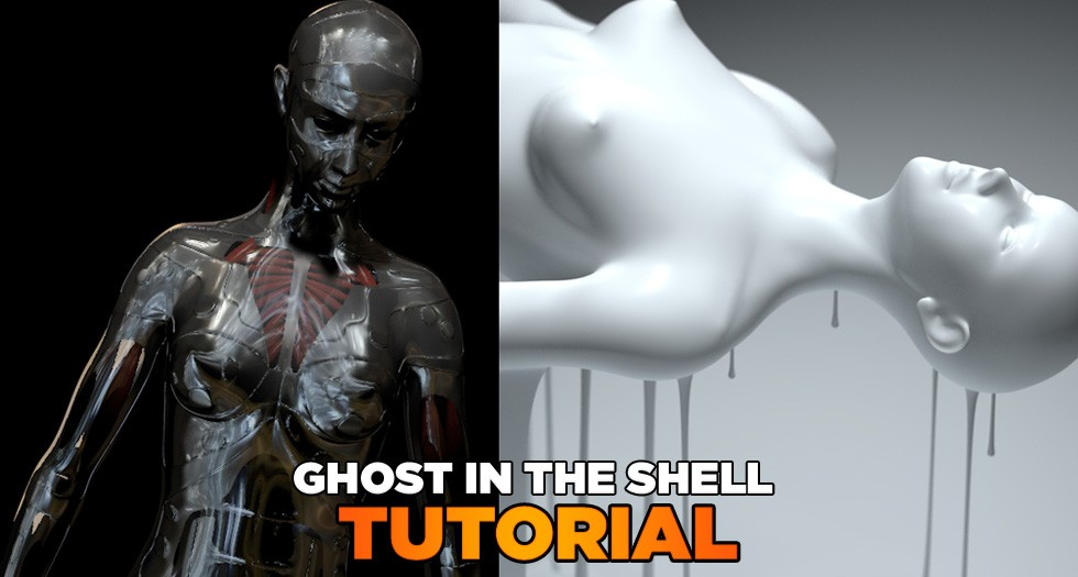 cinema 4d ghost in the shell