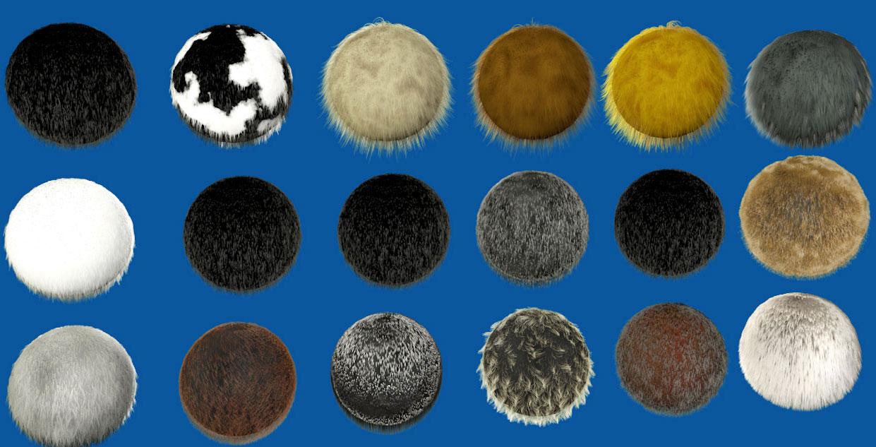 hair materials free « Cinema 4D Tutorials