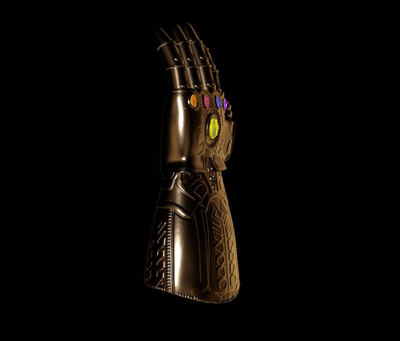 Thanos Gauntlet MODELING tutorial « Cinema 4D Tutorials